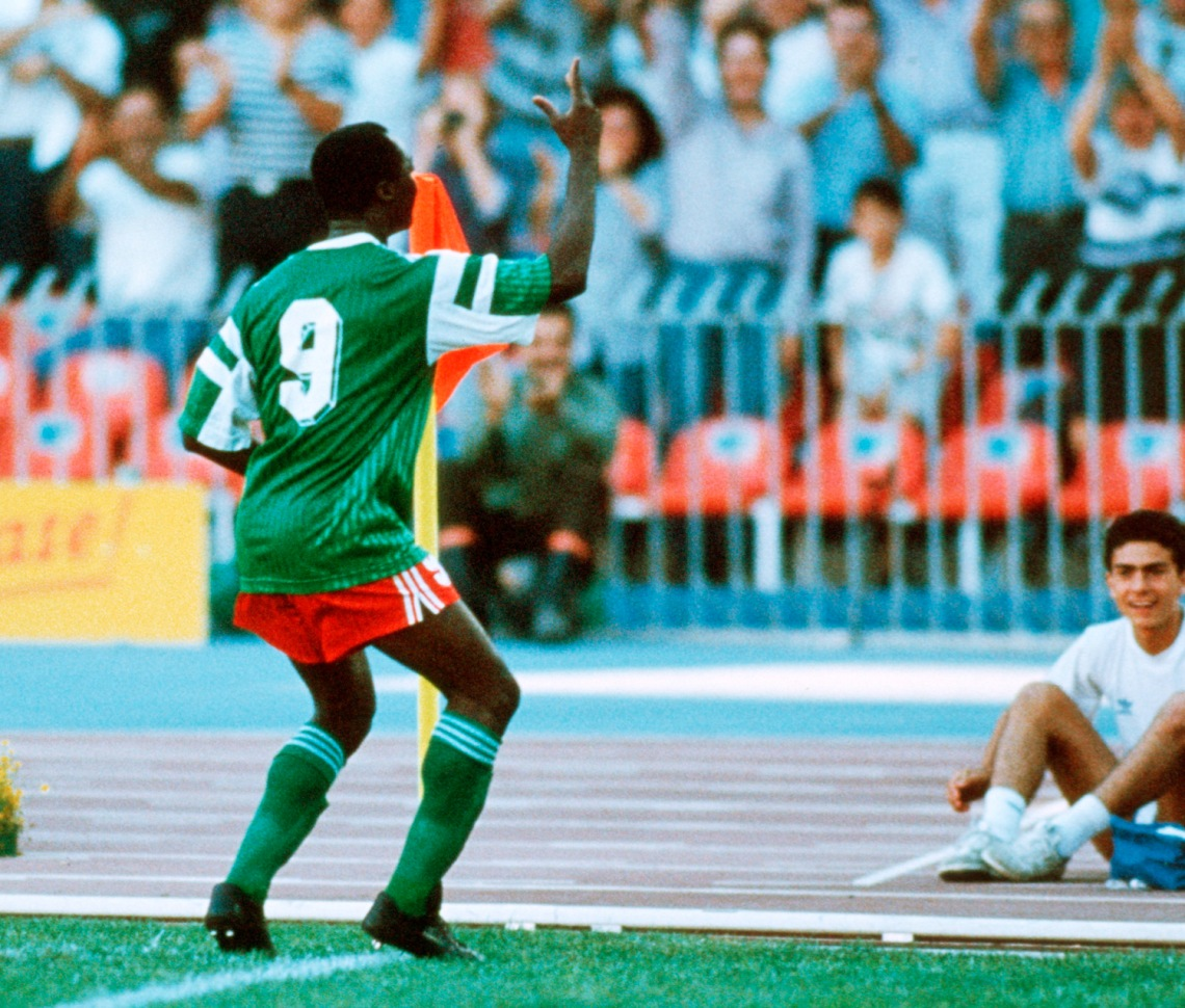 ITA: World Cup 1990 - Cameroon v Colombia